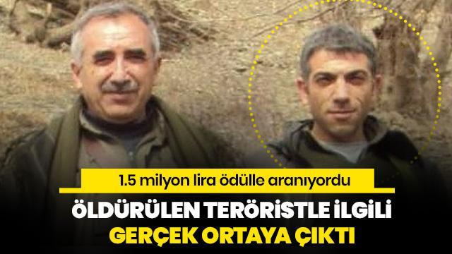 Öldürülen o terörist örgütün kara kutusuydu!