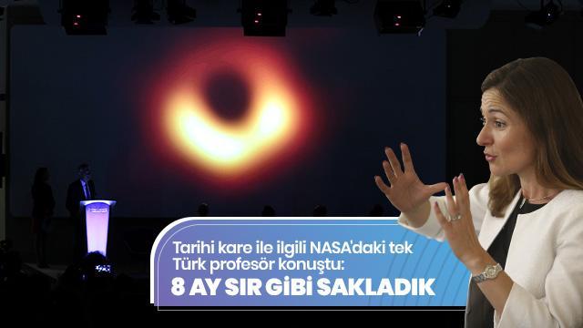 20 yıldır kara delikleri görüntülemek için çalışıyor