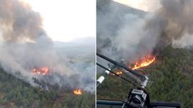 Muğla Köyceğiz'deki orman yangını söndürüldü