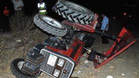 Malatya'da traktör devrilmesi sonucu 1 kişi öldü