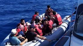 Muğla Bodrum'da 39 düzensiz göçmen yakalandı