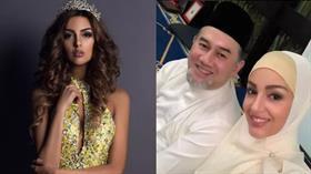 Malezya Kralı'na taht bıraktıran Rus güzellik kraliçesi Oksana Voevodina ilk kez konuştu