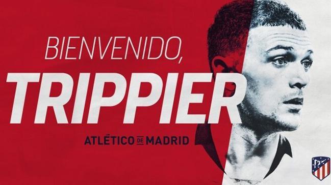 Atletico Madrid, Kieran Trippier'i kadrosuna kattığını açıkladı