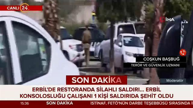 Güvenlik uzmanı Başbuğ, Erbil'deki saldırıyı değerlendirdi