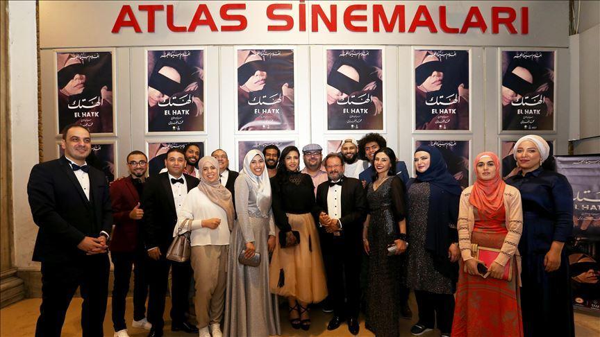 Darbe sonrası Mısır'ı anlatan filmin galası yapıldı