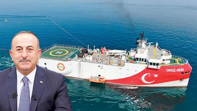 Akdeniz'de dört koldan arama