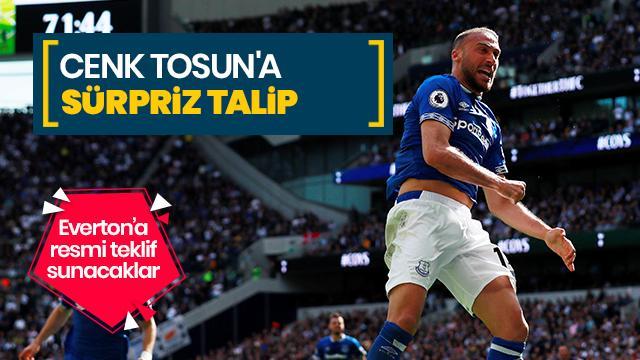 Cenk Tosun'a sürpriz talip! Everton'a resmi teklif sunacaklar