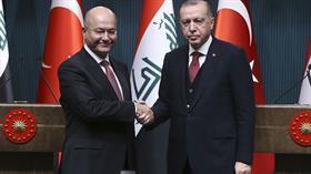 Son dakika...Irak Cumhurbaşkanı Salih'ten Başkan Erdoğan'dan taziye telefonu