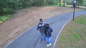 Rusya'da mobese kameralarını çalmak isteyen hırsızlar mobeselere yakalandı