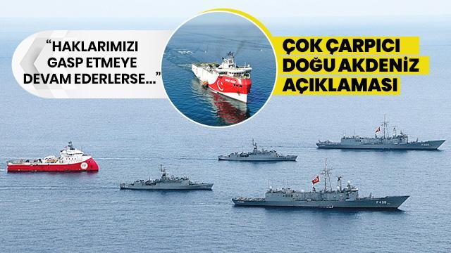 Dr. Gözügüzelli'den çarpıcı 'Doğu Akdeniz' açıklaması: Haklarımızı gasp etme çabaları devam ederse...