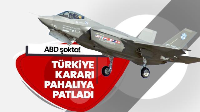 Türkiye'nin F-35 programından çıkarılması ABD'ye 600 milyon dolara mal oldu