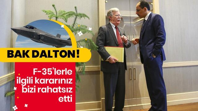Türkiye-ABD arasında önemli görüşme! F-35 rahatsızlığı dile getirildi