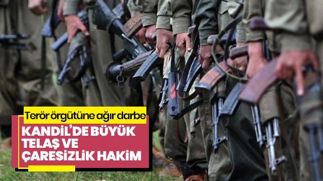 Terör örgütü PKK'nın Irak'taki işgalci politikasına büyük darbe