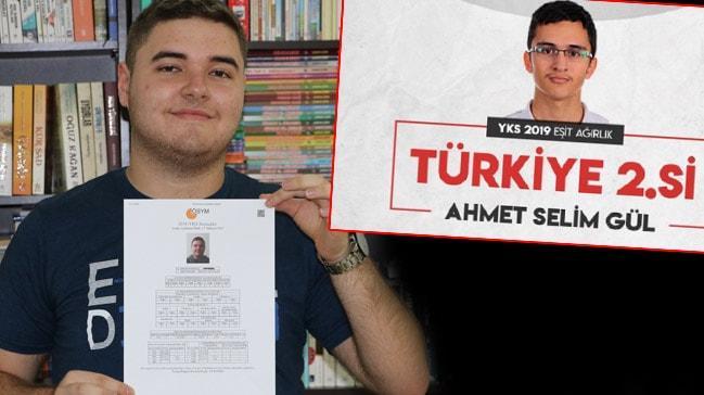 YKS'de derece yapan Mehmet Berke İşler ve Ahmet Selim Gül başarılarının sırrını açıkladı!