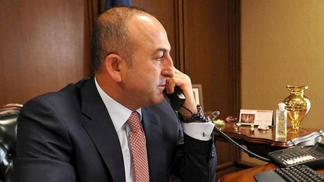 Bakan Çavuşuoğlu, Alman mevkidaşıyla telefonda görüştü