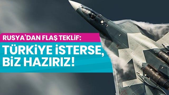 Son dakika... Rusya'dan flaş 'Su-35' teklifi: Türkiye isterse, hazırız!