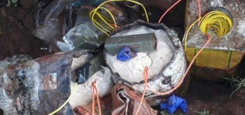 Mardin'de 40 kilo patlayıcı ele geçirildi, 5 kişi gözaltına alındı