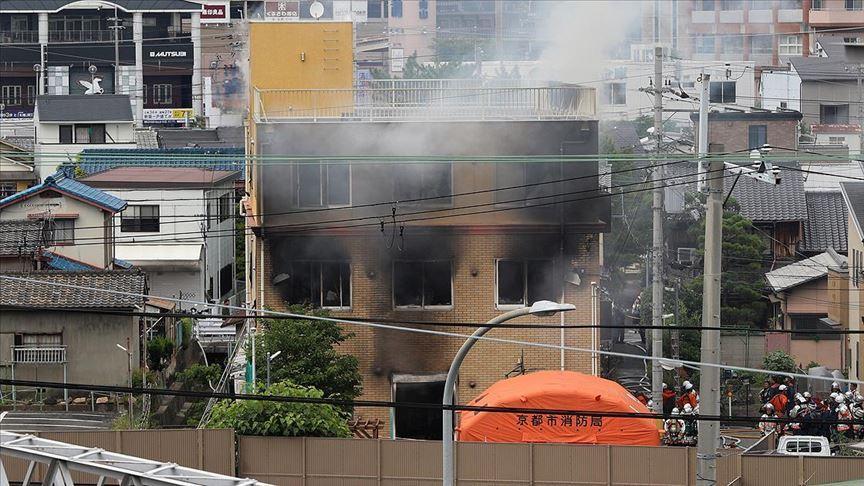 Japonya'da animasyon stüdyosunda yangın: 13 ölü