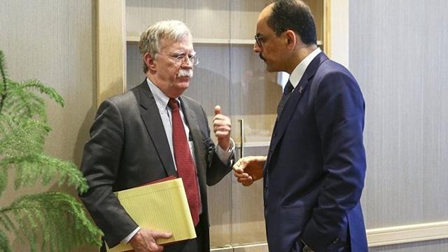 Son dakika... Cumhurbaşkanlığı Sözcüs Kalın, Bolton ile telefonda görüştü: F-35 konusunda duyulan rahatsızlık iletildi