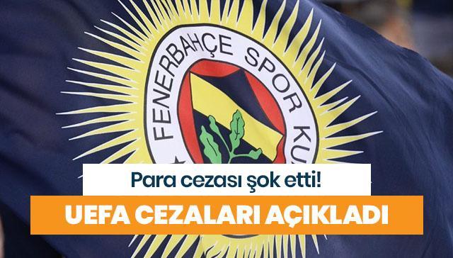 Fenerbahçe'ye men yok, para cezası var!