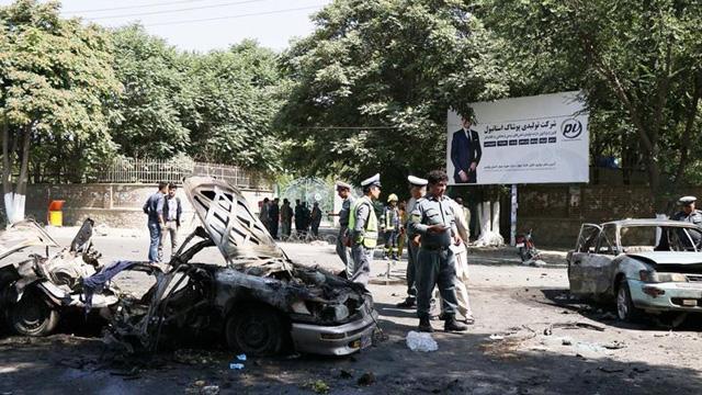 Afganistan'da Kabil Üniversitesi yakınında patlamada 8 kişi öldü