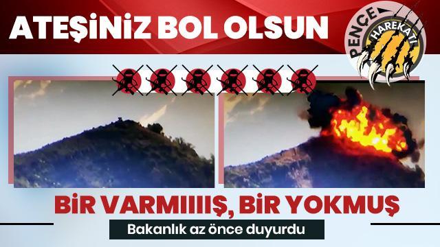 Son dakika... PKK'ya darbe üstüne darbe: 6 terörist öldürüldü