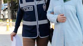 Mersin merkezli 8 ilde düzenlenen FETÖ operasyonunda 10 kadın zanlı gözaltına alındı