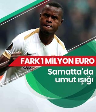 Galatasaray ile Genk arasındaki Samatta pazarlığında fark 1 milyon Euro'ya indi