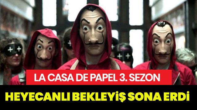 La Casa De Papel 3. Sezon ne zaman? La Casa De Papel yeni sezonu kaç bölüm?