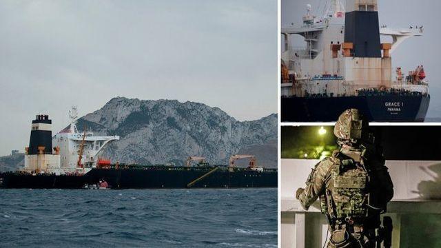 İran, İngiltere'ye ait bir petrol tankerini durdurdu