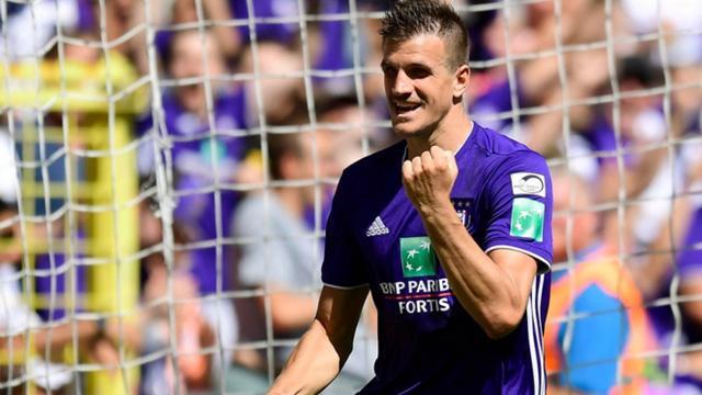 Trabzonspor'un 2 milyon Euro teklif yaptığı Ivan Santini için Anderlecht 3 milyon Euro talep ediyor