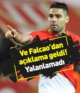 Radamel Falcao'dan açıklama geldi: Bazı kulüplerin ilgisini biliyorum