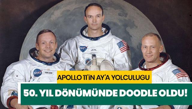 Apollo 11'in Ay'a yolculuğu Google Doodle yaptı! Apollo 11 nedir?