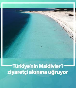Türkiye'nin Maldivler'i Salda Gölü'ne günde 30 bin ziyaret