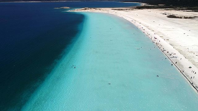 Türkiye'nin Maldivler'i... Ziyaretçi akınına uğruyor