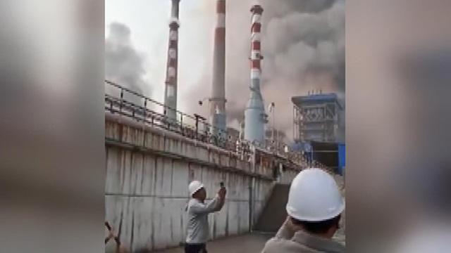 Çin'de korkutan patlama