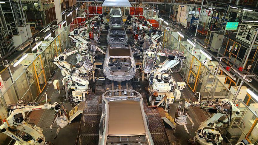 'Sanayi kenti'nde günde 1561 araç üretildi