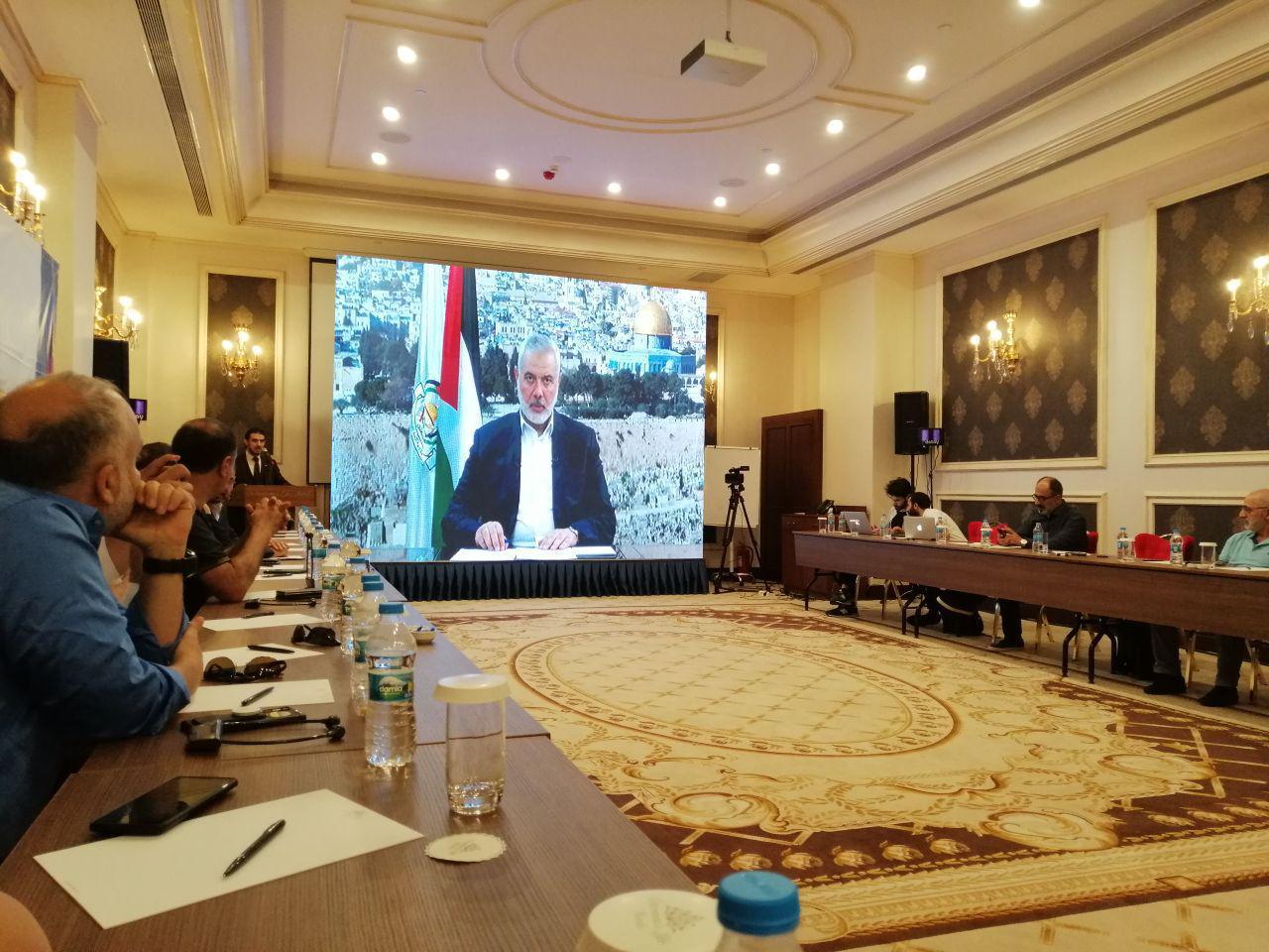 İsmail Haniyye: İsrail ile normalleşmeyi doğru bulmuyoruz