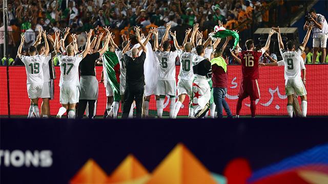 Afrika Kupası'nı kazanan Cezayir 4,5 milyon dolar para ödülünün sahibi oldu