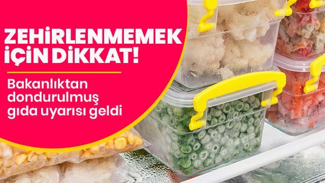 Bakanlık uyardı: Buzdolabında çözdürün