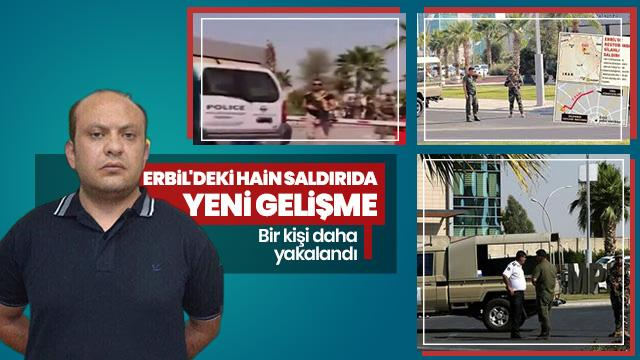 Erbil'deki terör saldırısında bir kişi daha yakalandı