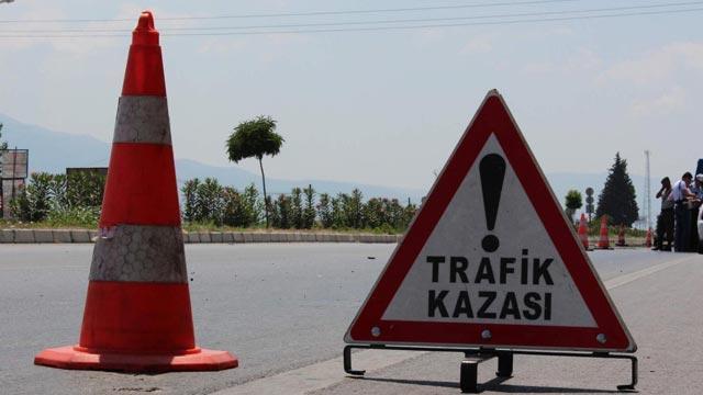 Denizli'deki trafik kazasında 5 kişi yaralandı