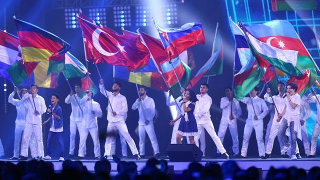 Bakü'de Avrupa Gençlik Olimpik Yaz Festivali başladı