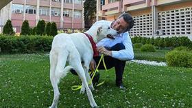 """Bakan Selçuk okul bahçesinde hayvan besleme çağrısını yineledi: """"İkisi arasında sevgi kadar fark var"""""""