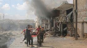 Katil Esed rejimi İdlib'i vurdu: 6 sivil hayatını kaybetti