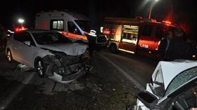 Kastamonu'da iki otomobil çarpıştı: 6'sı çocuk 11 yaralı