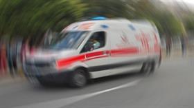 Konya'da iki otomobilin çarpışması sonucu 2 kişi öldü, 2 kişi yaralandı