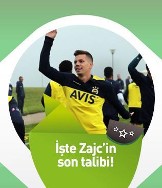 Leicester City, Fenerbahçe'den ayrılmasına kesin gözüyle bakılan Miha Zajc'a talip oldu
