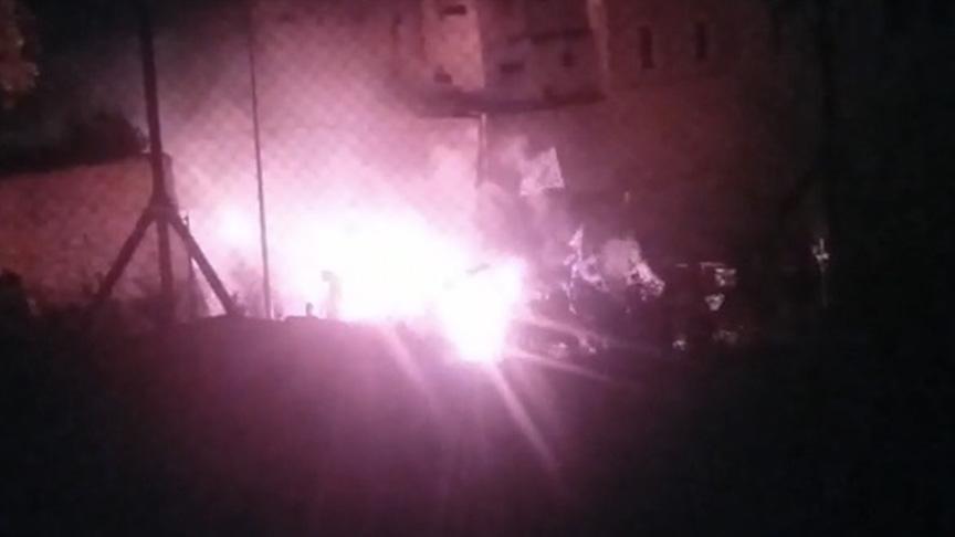 Kıbrıs'ta Rumlardan alçak hareket! Türk askerine molotofla saldırdılar