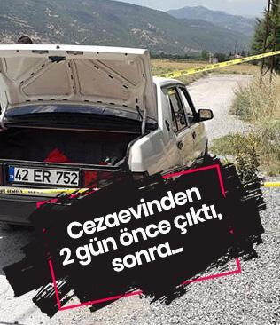 Cezaevinden 2 gün önce çıkan Mustafa İnatçıoğlu, aracının yanında ölü bulundu